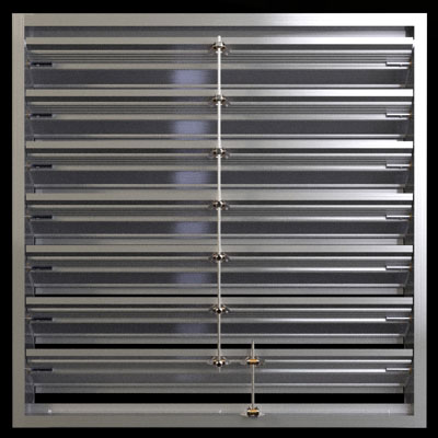 445a 4 Inch Adjustable Louver Duravent